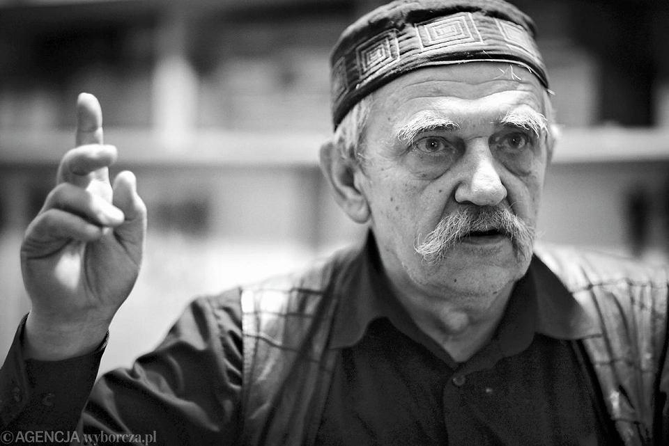 28.08.2011, Janusz Tryzno, twórca Muzeum Książki Artystycznej