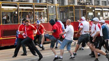 Zamieszki przed meczem Polska - Rosja podczas Euro 2012