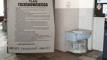 'Plan' Trzaskowskiego w kościele