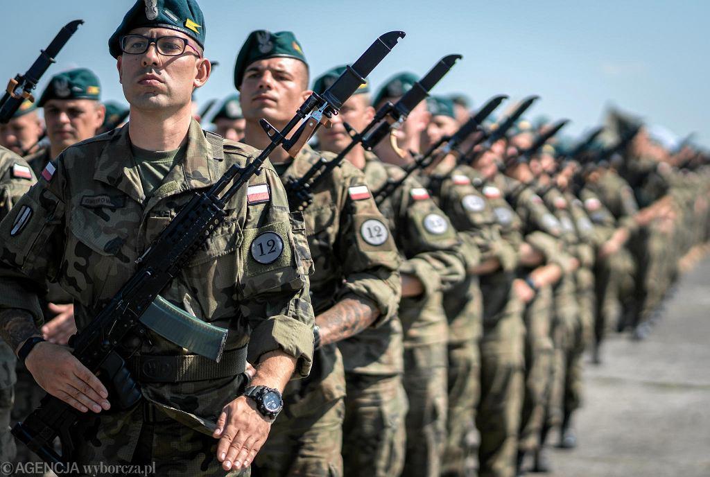 Próba defilady wojskowej w Katowicach