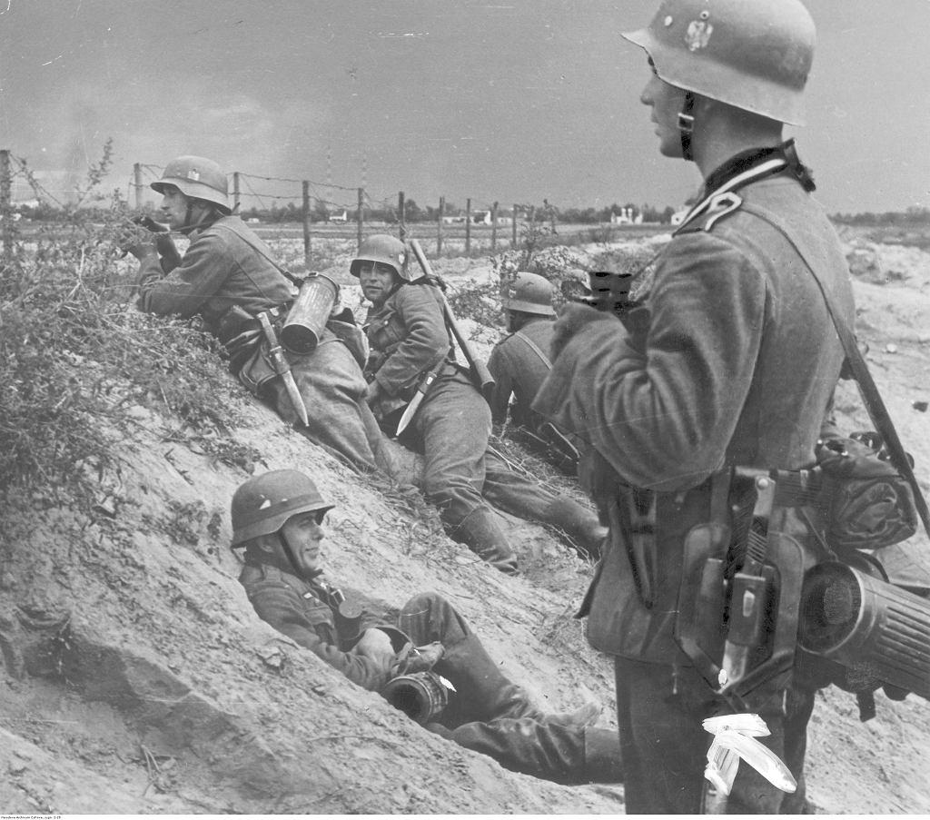 Zdjęcie z okresu II wojny światowej