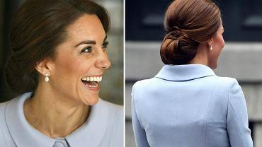 Księżna Kate ma już za sobą pierwszą wizytę dyplomatyczną, którą odbyła bez towarzystwa męża. W Holandii spotkała się z królem Wilhelmem Aleksandrem i wzięła udział w obchodach Światowego Dnia Zdrowia Psychicznego. Jak zawsze prezentowała się nieskazitelnie, dopóki... nie stanęła tyłem.  Pastelowy komplet w stylu Jackie Kennedy wręcz wisiał na jej bardzo szczupłej sylwetce. Zajrzyjcie do naszej galerii i zobaczcie sami!