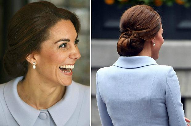 Zdjęcie numer 0 w galerii - Księżna Kate niknie w oczach. Spódnica ledwo trzymała się na jej biodrach. To nie wygląda dobrze