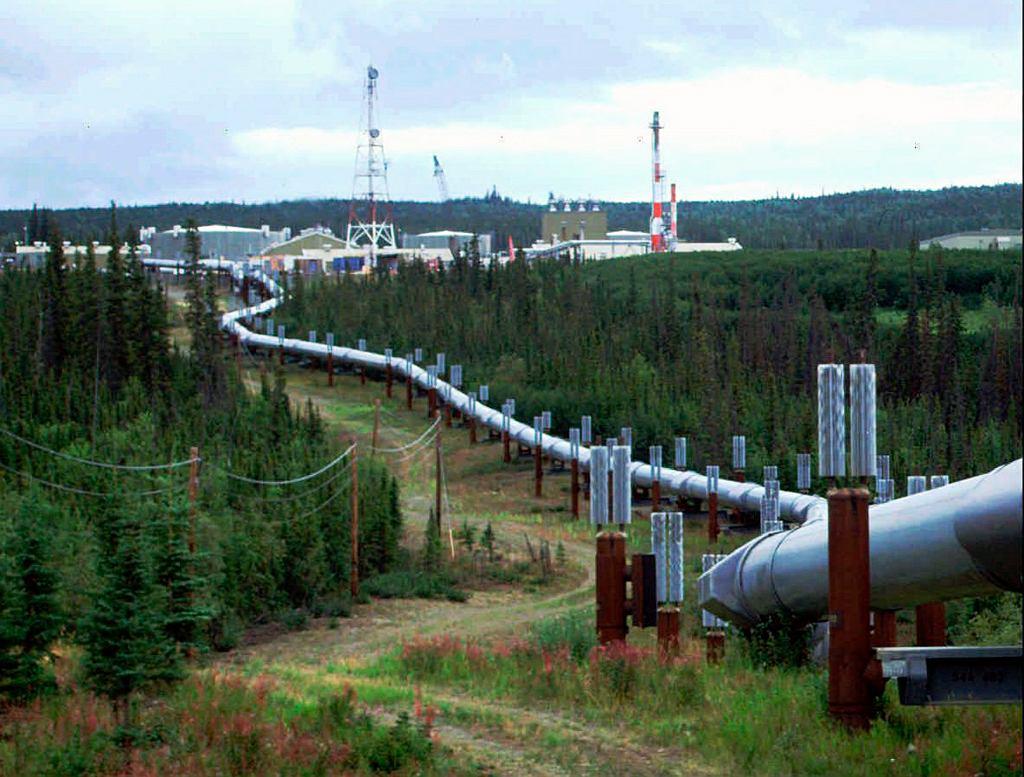 Ropa naftowa. Rurociąg na Alasce