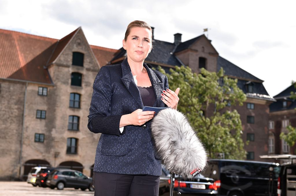 Premier Danii Mette Frederiksen.