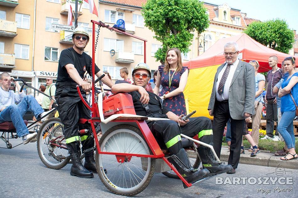 rowerowa straż pożarna