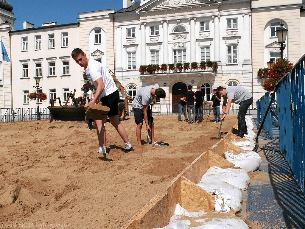 Turniej piłki ręcznej plażowej będzie rozgrywany na dwóch boiskach