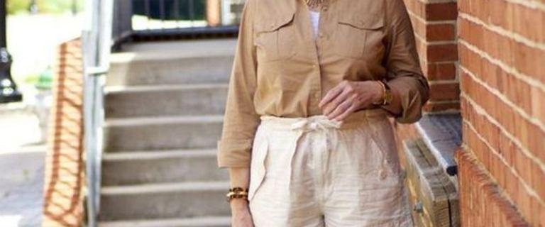 Te modne szorty są idealne dla kobiet po 50-tce. Wygodne, stylowe i wyszczuplają nogi!