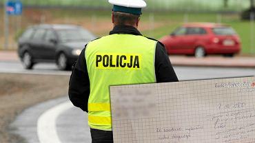 Policjant. Zdjęcie ilustracyjne