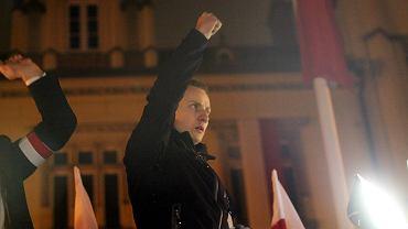 """Jacek Międlar na """"Marszu Patriotów"""""""