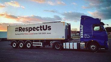 Ciężarówka akcji #RespectUs