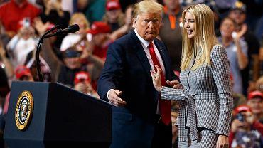 Donald Trump w czasie kampanii wyborczej