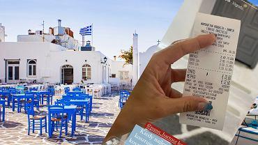 Blogerka opublikowała paragon z restauracji w Grecji