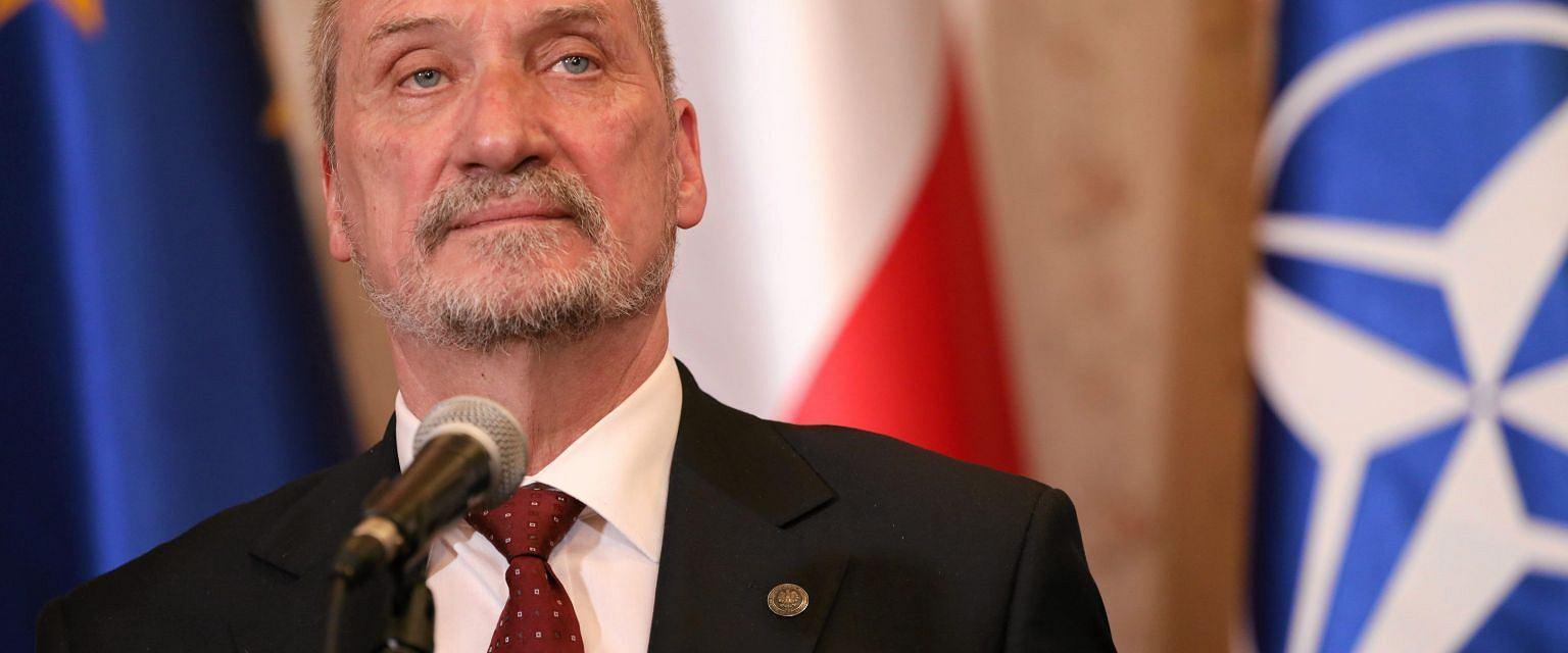 Antoni Macierewicz, minister obrony narodowej (fot. Sławomir Kamiński / Agencja Gazeta)