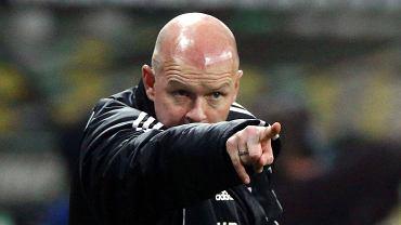 Legia - Lechia 1:0. Trener Legii Henning Berg