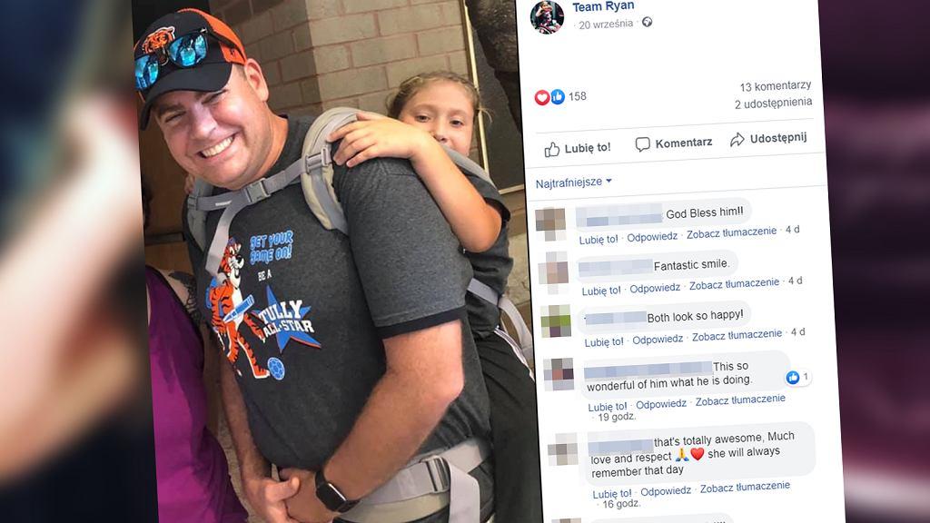 Niepełnosprawna uczennica dzięki nauczycielowi była na wycieczce szkolnej