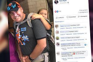 Cudowny gest nauczyciela. Niósł uczennicę z niepełnosprawnością podczas wycieczki