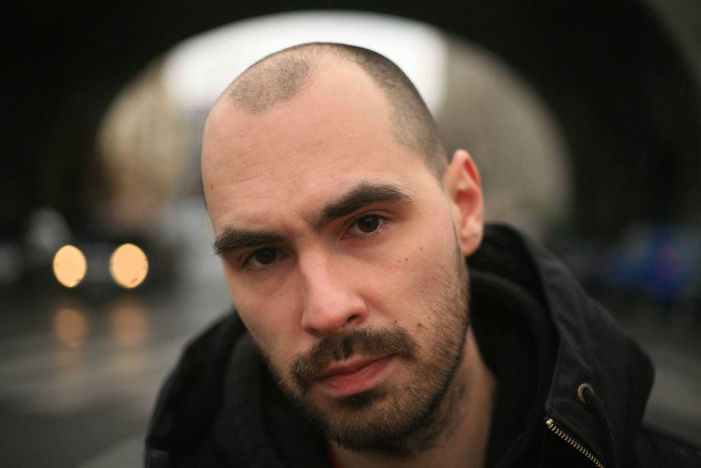 / Jakub Żulczyk (fot. Albert Zawada/Agencja Gazeta)