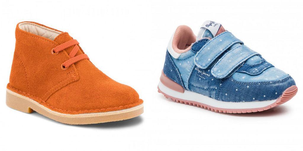 buty na jesień dziewczęce