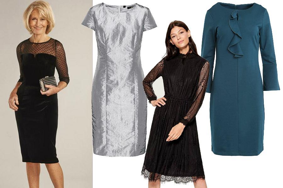 Klasyczne sukienki na sylwestra dla dojrzałych kobiet