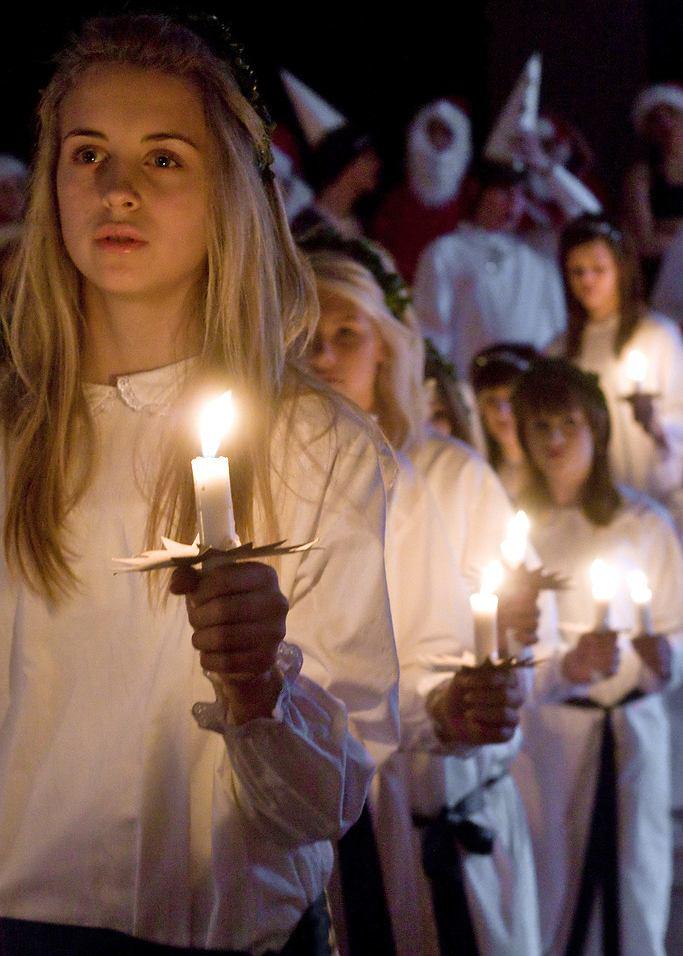 Obchody dnia Św. Łucji / fot. Fredrik Magnusson /Wikipedia