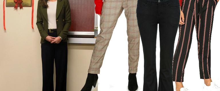 Najmodniejsze spodnie sezonu: księżna Kate wybrała dzwony. Wiemy, gdzie je kupić!