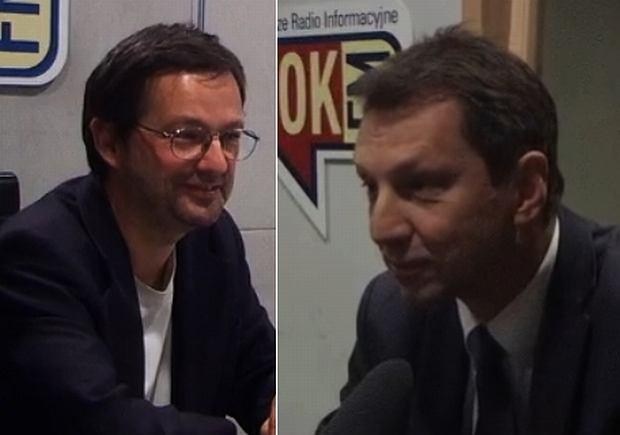 Jan Wróbel i Andrzej Halicki w