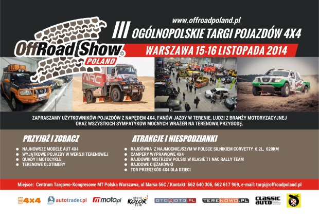 III OffRoad Show Poland 2014