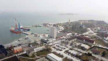 Port na Gotlandii