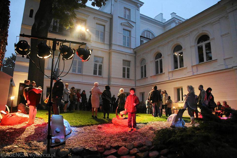 Uroczyste otwarcie odnowionego ogrodu Książnicy Płockiej