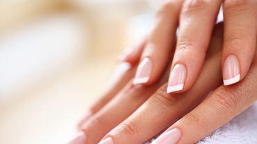 Moda na french manicure