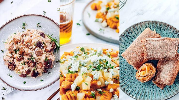 Trzy pomysły na jesienny obiad według Anny Starmach.
