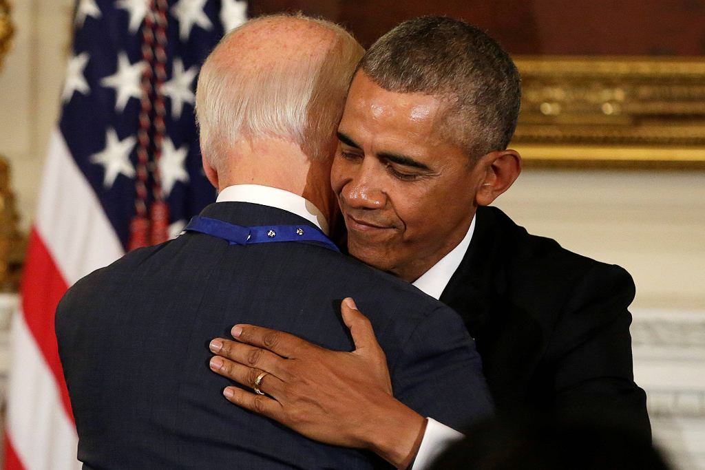 Barack Obama i Joe Biden
