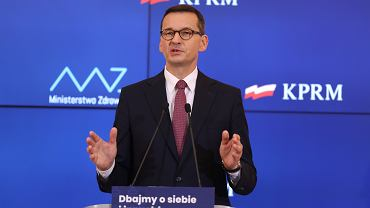 Zasiłek opiekuńczy - Mateusz Morawiecki o świadczeniu wprowadzonym w zwiazku z zamknięciem szkół