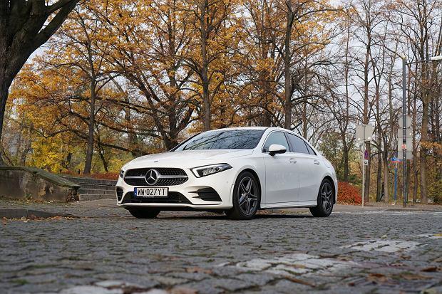Mercedes Klasy A sedan A 180 d