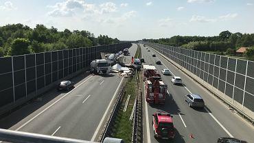 Wypadek na autostradzie A4/zdjęcie ilustracyjne