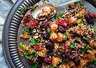 Sałatka z kaszy quinoa z pomarańczami