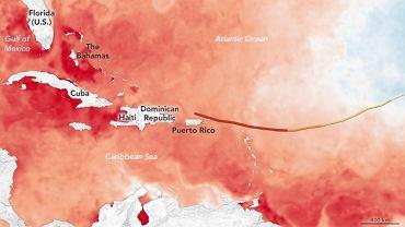 Co napędza huragan Irma