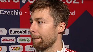 Michał Kubiak po meczu Polska - Serbia