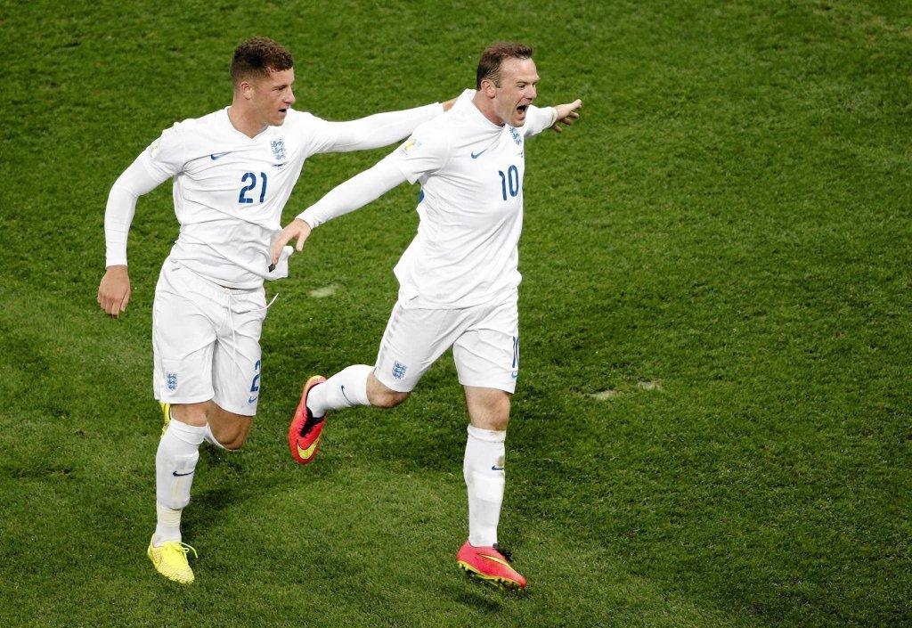 Ross Barkley i Wayne Rooney