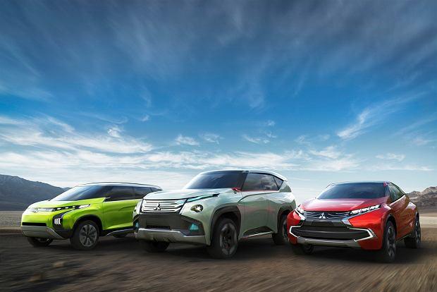 Trzy koncepty Mitsubishi w Tokio