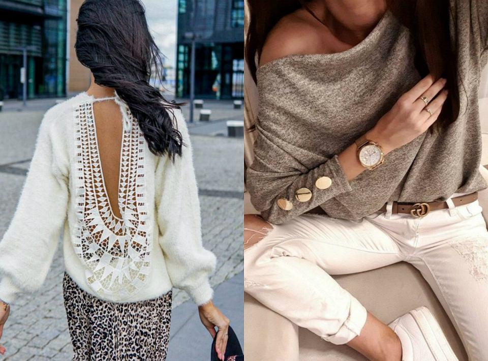 Piękne swetry na zimę