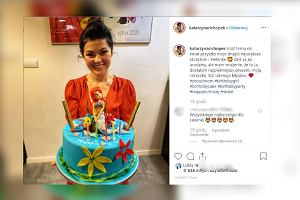 Kasia Cichopek pokazała niesamowity tort urodzinowy dla córki. Jest naprawdę uroczy