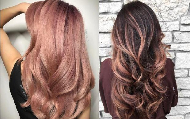 Rose brown hair