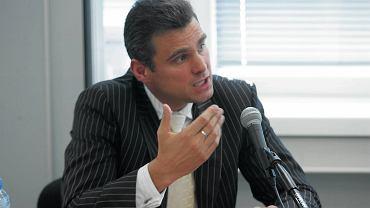 Piotr Woyciechowski w 2005 r. podczas przesłuchania na prezesa IPN