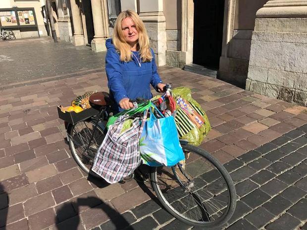 Marta Bradshaw sama chętnie jeździ rowerem