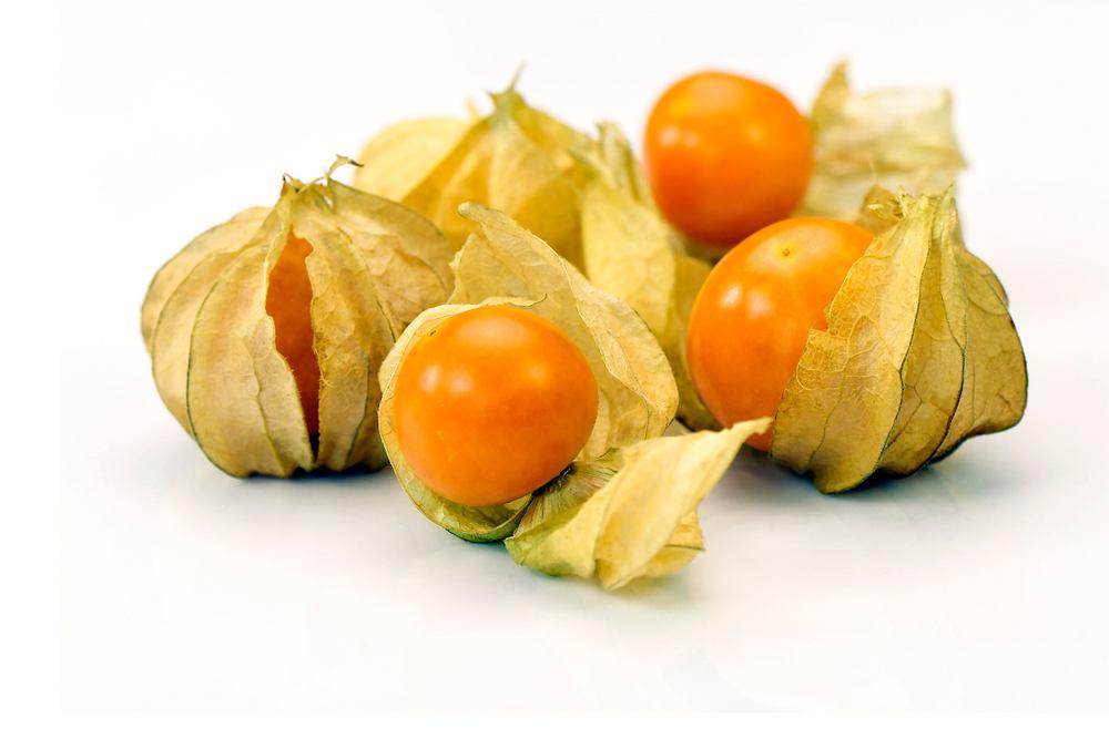 Miechunka (wiśnia peruwiańska) ma słodko-kwaśny smak, z delikatną nutą goryczy