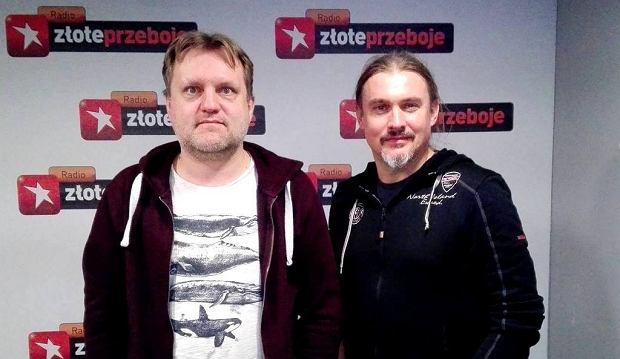 Kuba Mędrzycki i Maciej Balcar w programie 'Cała Muzyka'