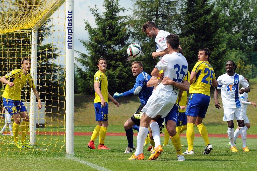 Lech Poznań - Atlantas Kłajpeda 2:0 w sparingu w Gniewinie