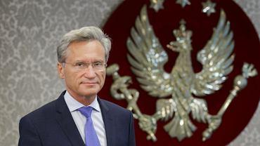 Rektor WUM prof. dr hab. n. med. Zbigniew Gaciong